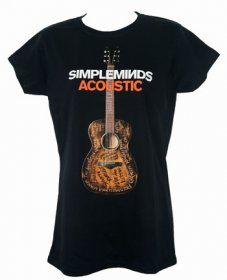 Fitted Acoustic Album T Shirt
