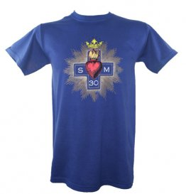 Blue Heart T Shirt
