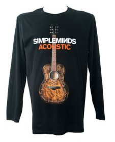 Acoustic Album Long Sleeved T Shirt With Tour Date Back Print