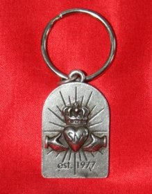Simple Minds Key Ring