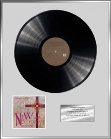 Personalised Vinyl Award 'New Gold Dream (81-82-83-84)