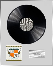 Personalised Vinyl Award 'Sparkle In The Rain'