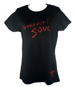 Ladies Graffiti Soul T Shirt