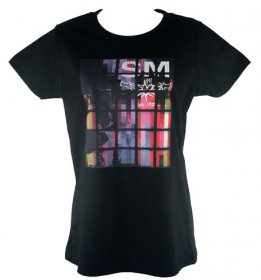 Fitted Colour Block T Shirt