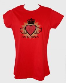 Ladies Red Tour T Shirt