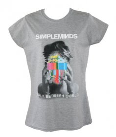 Ladies Fitted Walk Between Worlds T Shirt With Summer Tour Date Back Print