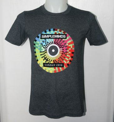 Summer Tour T Shirt With Tour Date Back Print
