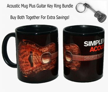 Acoustic Mug/Key Ring Bundle