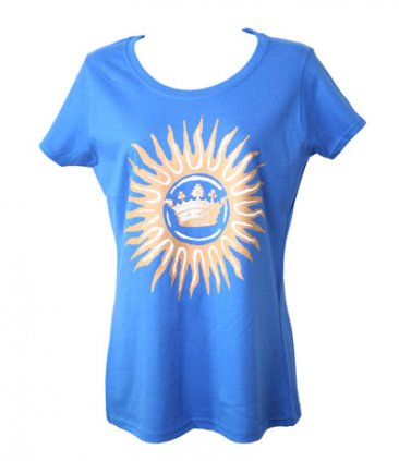 Fitted Blue New Gold Dream Tour T-Shirt