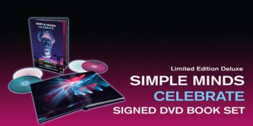 CELEBRATE – LIVE AT THE GLASGOW SSE HYDRO Limited Edition Deluxe DVD Book Set - Unsealed