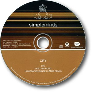 Cry Single CD (Bronze)