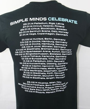 Ladies Celebrate 2014 Tour Dates T Shirt