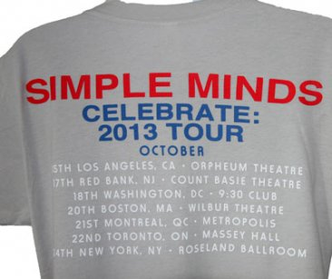 Celebrate American Tour Dates T Shirt