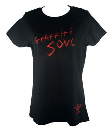 Fitted Graffiti Soul T Shirt