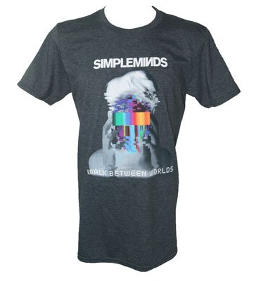 Walk Between Worlds T Shirt In Negative With February Tour Date Back Print